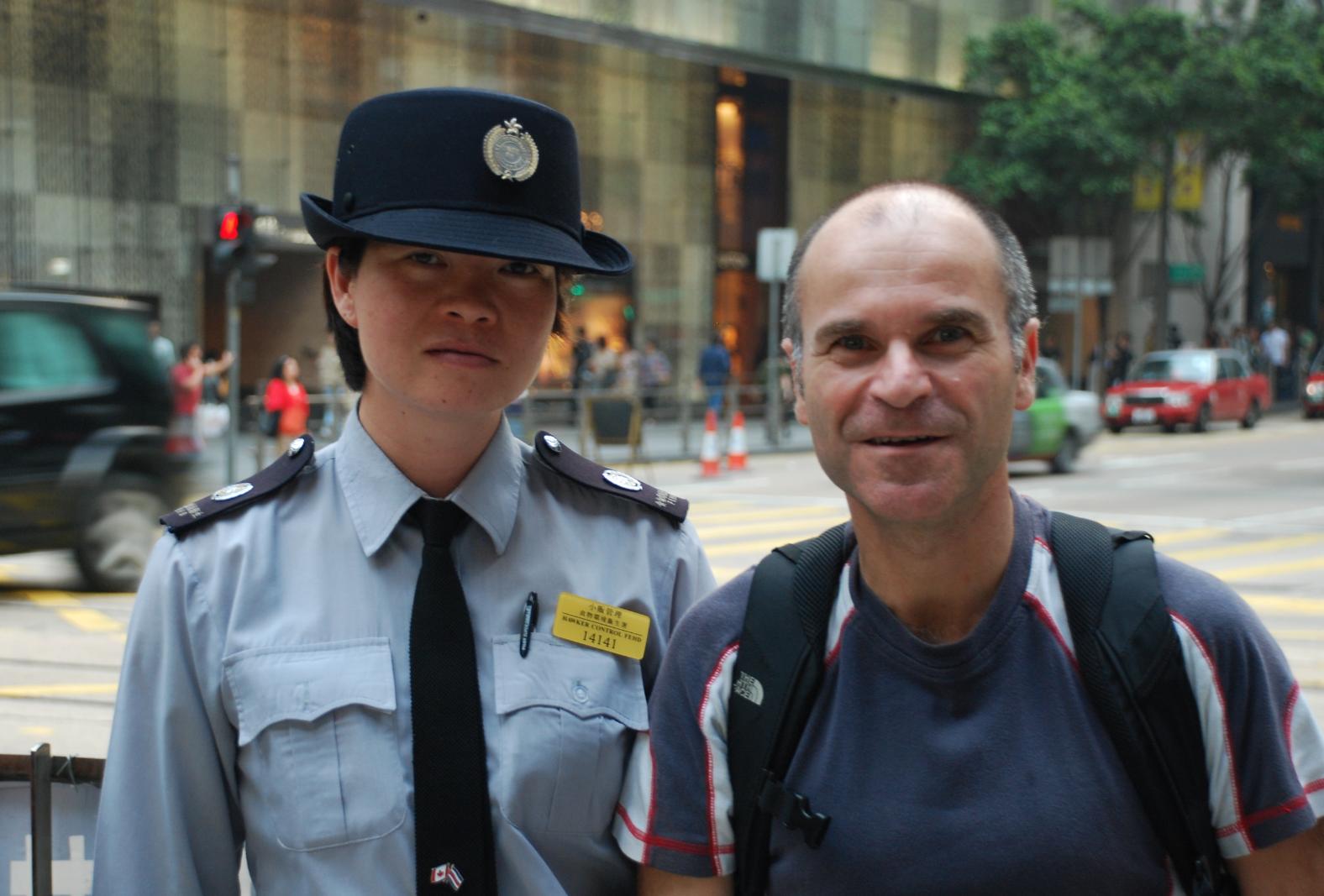 Selfie-HK Police