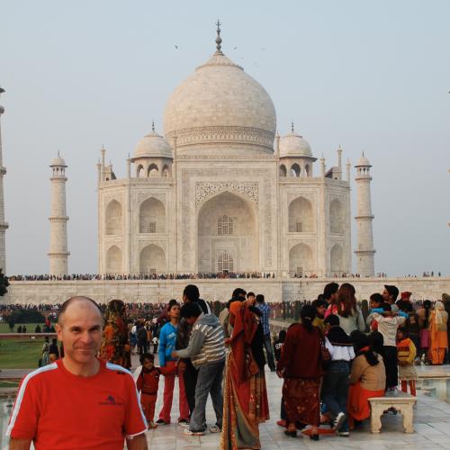 Selfie-Taj Mahal
